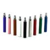 Purple, pink, red, white, black, silver, burgandy, green & blue shisha pen batteries.