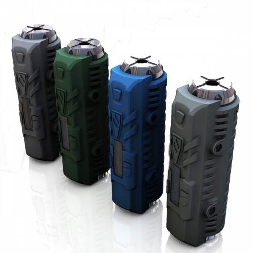 Invader Mini - Black, Blue, Green, Grey