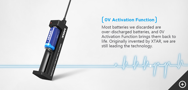 Xtar MC1 Charger 0V Activation