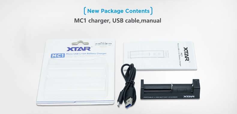 Xtar MC1 USB Full Kit