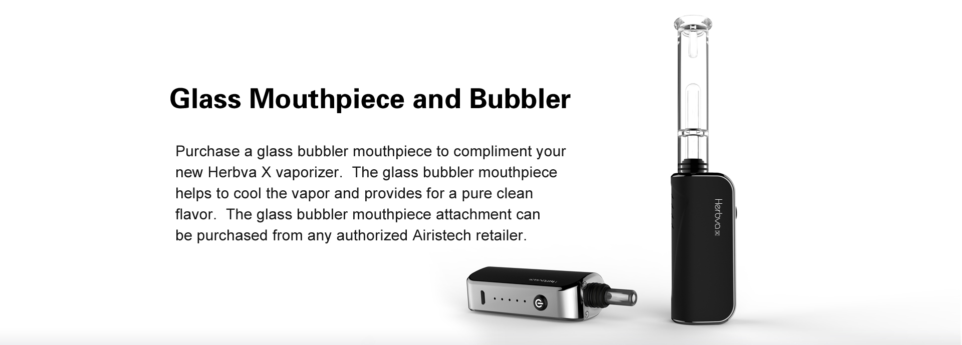 Herbva X Airistech Included Bubbler