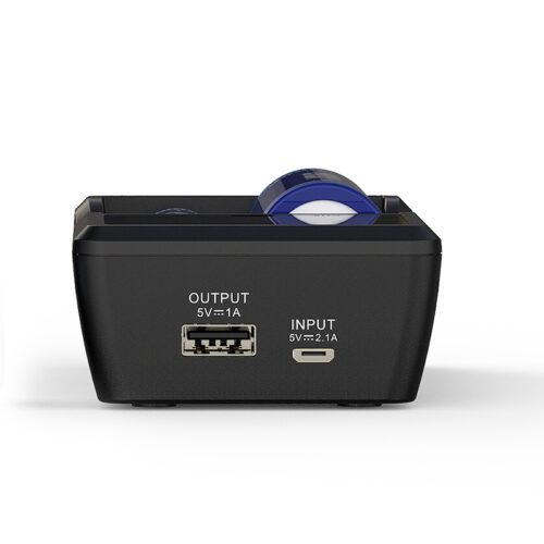 VC2s Xtar Micro USB Charging
