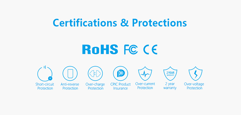 VC2s RoHS and CE Compliant