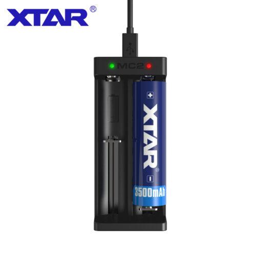 MC2 Charger XTAR 2 Ports