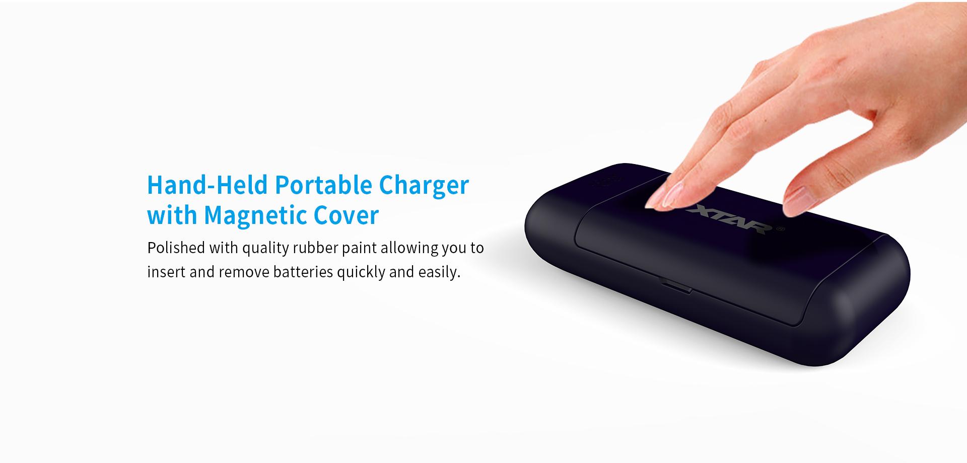 XTAR PB2 Powerbank Charger Smart Grip