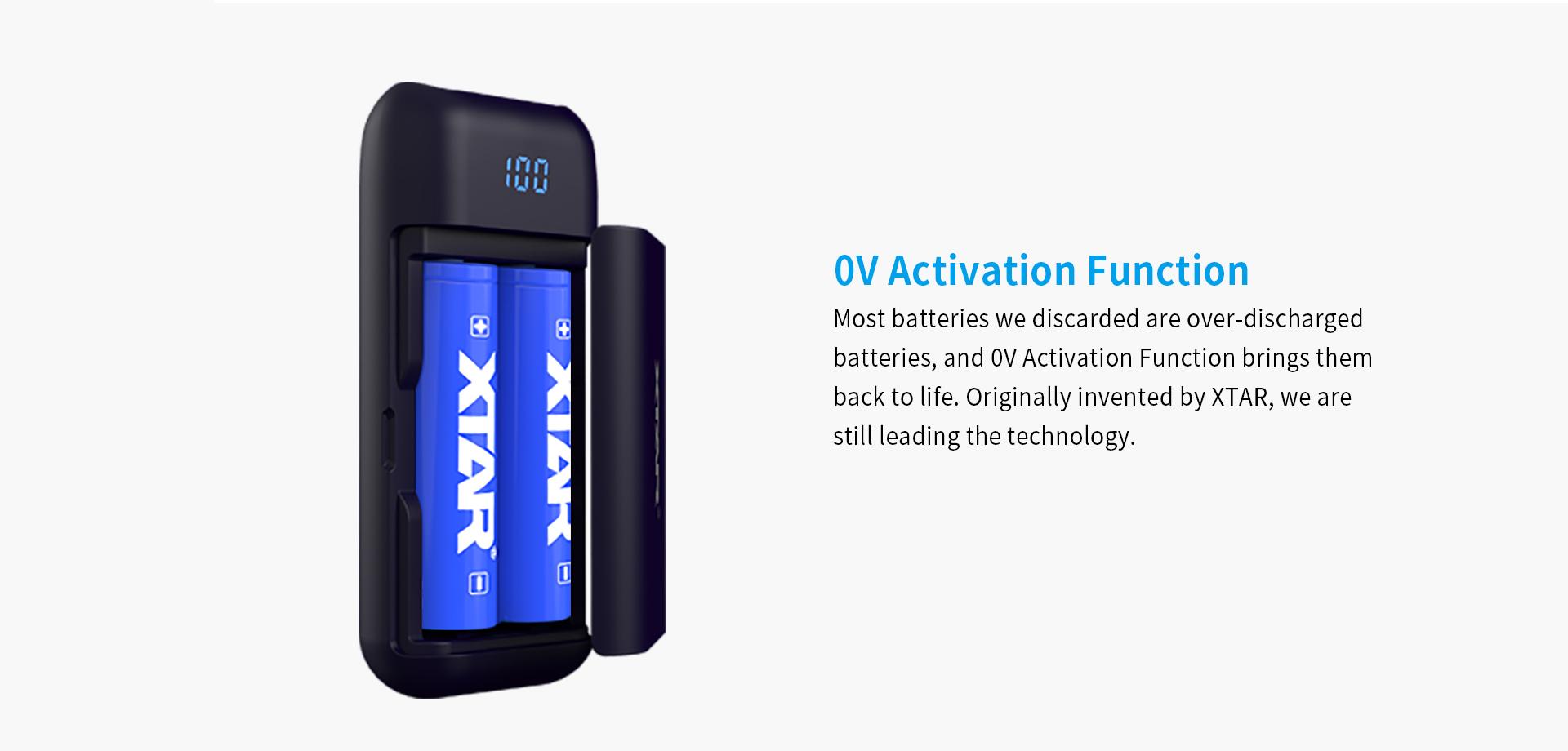 XTAR PB2 Powerbank Charger 0V