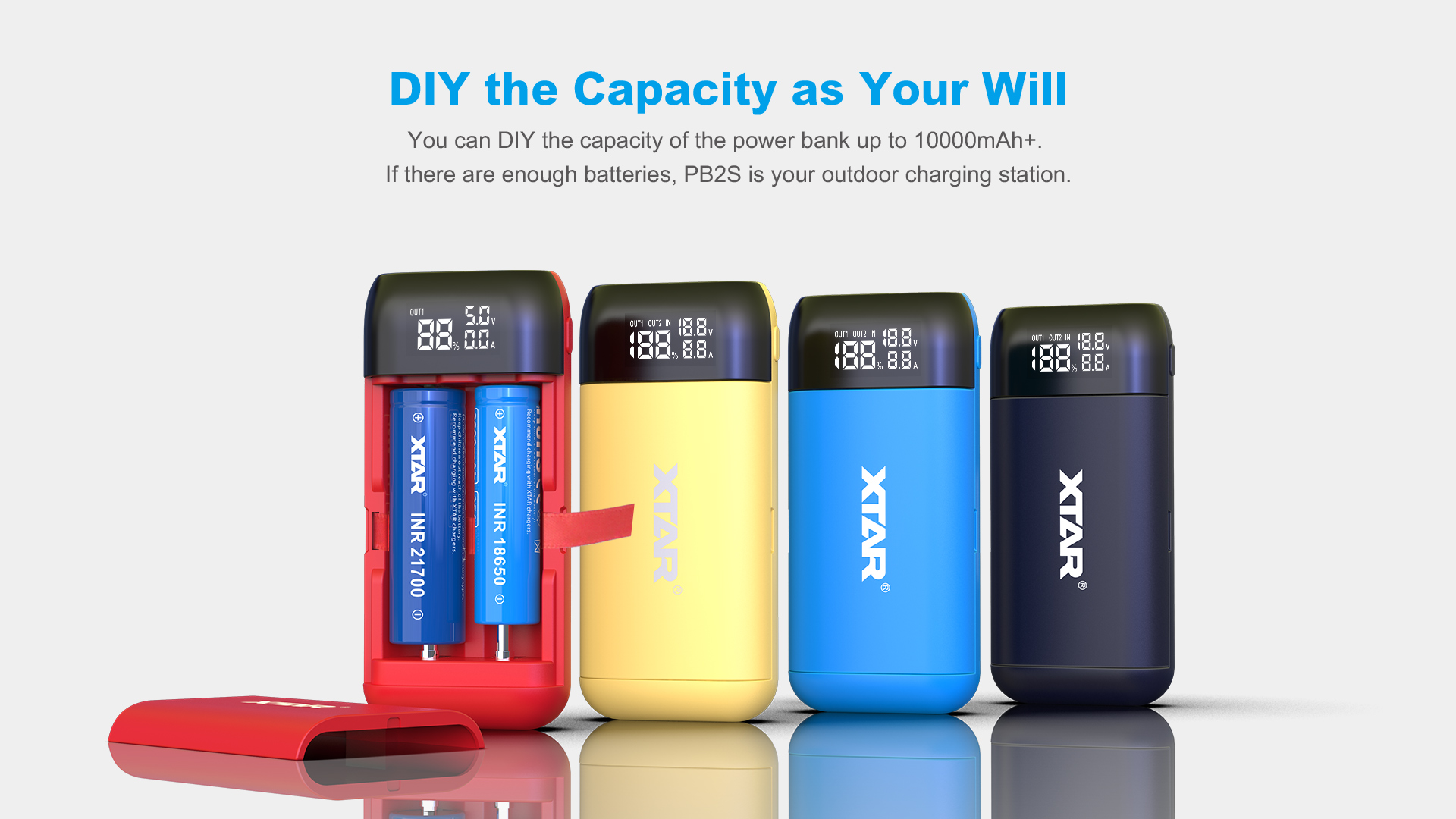 PB2s Powerbank Charger Choose Your Capacity