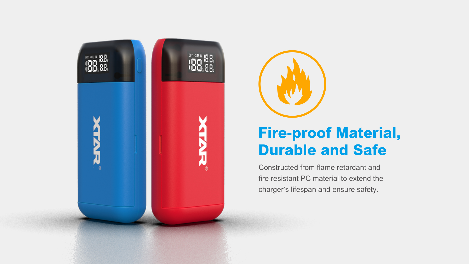 PB2s Powerbank Charger Fire Resistant